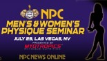NATIONAL PHYSIQUE COMMITTEE ANNOUNCES FIRST-EVER MEN'S AND WOMEN'S PHYSIQUE SEMINAR thumbnail
