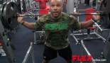Juan Morel trains legs and gets a deep tissue massage. thumbnail
