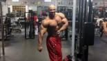 Juan Morel Posing 8 Weeks Before the 2015 Olympia thumbnail