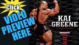 Kai Greene – 60 Minutes of Olympia Prep Training Footage thumbnail