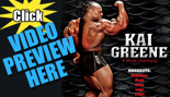 Kai Greene – 60 Minutes of Olympia Prep Training Footage thumbnail