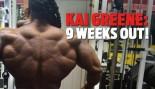 KAI GREENE: 9 WEEKS OUT! thumbnail