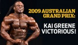 2009 AUSTRALIAN GRAND PRIX: KAI GREENE VICTORIOUS thumbnail