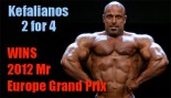 Kefalianos Wins Mr Europe Pro 2012! thumbnail