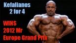 Kefalianos Wins Mr Europe Pro 2012! thumbnail