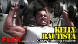 Kelly Bautista training shoulders thumbnail