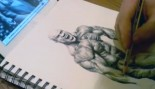 Liam Hudson's Time Lapse Drawing: Phil Heath thumbnail
