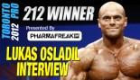 Toronto Pro Men's 212 Winner Lukas Osladil Interview and Posing Routine thumbnail