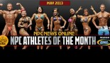 NPC and Gaspari Announce May 2013 Athletes of the Month thumbnail