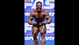 Willam Bonac - Men's Open Bodybuilding - 2015 IFBB Nordic Pro thumbnail