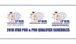 2018 IFBB Pro League PRO and PRO QUALIFIER Schedules thumbnail