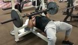 Dwayne Johnson Preps For 'Rampage' Filming With An Epic Bench Press Workout thumbnail