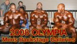 BACKSTAGE AT THE 2008 MR. OLYMPIA thumbnail