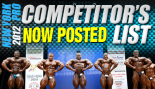 2012 New York Pro Competitors List Posted thumbnail