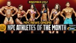 NPC and Gaspari Announce Nov 2012 Athletes of the Month thumbnail