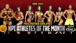 The NPC and Gaspari Nutrition Announce June NPC Athletes of the Month thumbnail