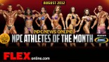 NPC Athletes of the Month for August thumbnail