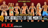 NPC and Gaspari Announce Sept 2012 Athletes of the Month thumbnail