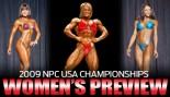 2009 NPC USA CHAMPIONSHIPS: WOMEN'S PREVIEW thumbnail