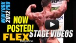 Pre-Judging Stage Video - Poses and Comparisons - 2012 New York Pro thumbnail