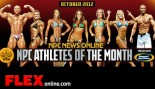 NPC and Gaspari Announce Oct 2012 Athletes of the Month thumbnail