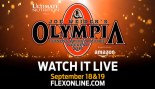 2015 Olympia Live Webcast thumbnail