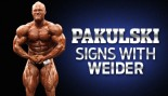PAKULSKI SIGNS WITH WEIDER thumbnail