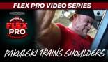 FLEX VIDEO: BEN PAKULSKI TRAINS SHOULDERS! thumbnail