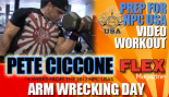Pete Ciccone Training Arms for the Start of His Prep - 14 Weeks Out thumbnail