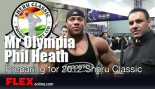 Mr Olympia Phil Heath on his Preparation for the Olympia and Sheru Classic thumbnail