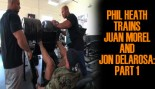 Phil Heath Trains Juan Morel and Jon Delarosa:Part 1 thumbnail