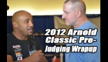 Dennis James and Chad Nicholls Wrap Up the Men Bodybuilding Pre-Judging thumbnail