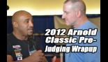 Dennis James and Chad Nicholls Wrap Up the Men Bodybuilding Pre-Judging thumbnail
