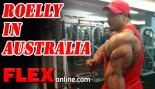 IFBB Pro Roelly Winklaar Flies 20 Hours to Visit with Fans thumbnail