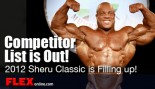 2012 Sheru Classic Contest Participant List Released! thumbnail