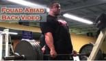 Fouad Abiad Back Training Video thumbnail