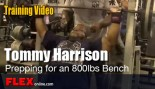 Powerlifter Tommy Harrison Jr Prepping for an 800lbs Bench thumbnail
