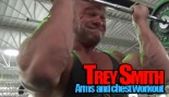 Trey Smith training back and arms  thumbnail