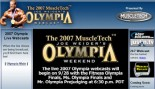 2007 OLYMPIA WEEKEND WEBCAST thumbnail