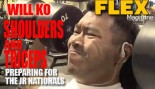 Will Ko Cranks Out Shoulders and Triceps for Flex Training Series  thumbnail
