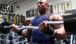 Keith Williams Arm Workout for NY Pro with Mike Gritti thumbnail