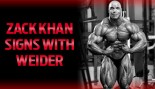 KHAN SIGNS WITH WEIDER thumbnail