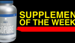 Supplement of the Week: Isopure Zero Carb thumbnail