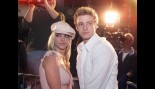 Britney Spears and Justin Timberlake attend the Crossroads premiere thumbnail