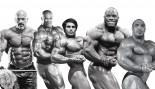 Bodybuilders Stan Efferding, Ronnie Coleman, Franco Columbu, Johnnie Jackson, Zach Khan thumbnail