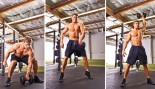 Man performing dumbbell snatch thumbnail
