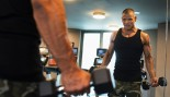Man Working Out With Dumbbells thumbnail