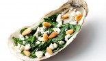 Grilled Oysters with Spinach and Feta thumbnail