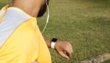 Man Checks Smart Watch For Workout thumbnail
