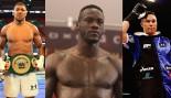 Anthony Joushua/Deontay Wilder/Joseph Parker thumbnail